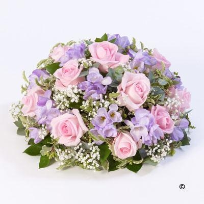 Rose and Freesia Posy   Pink and Lilac *
